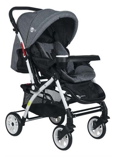 4 Baby 4 Baby Active Çift Yönlü Alüminyum Bebek Arabası Renkli